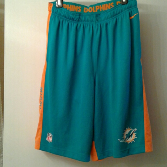 5ac0153b NWOT Miami Dolphins Shorts